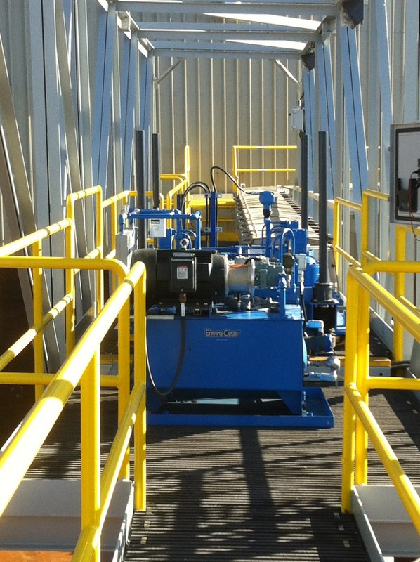 drive 4 - Clarifier Thickener Hydraulic Power Unit